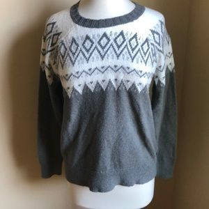 Hollister printed sweater